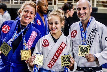 Trois membres d'une même famille de Boucherville remportent 5 médailles aux Championnats panaméricains de jiu-jitsu brésilien