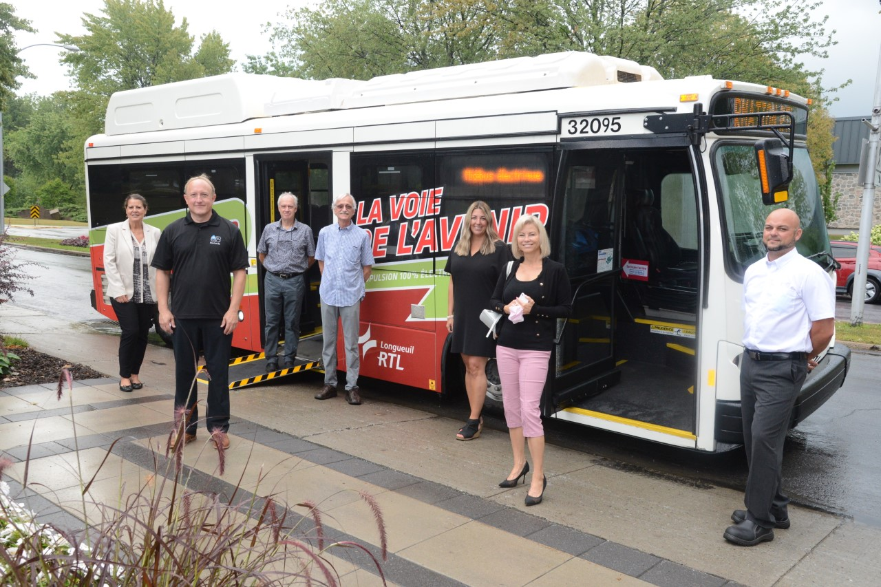 Un minibus électrique pour se déplacer gratuitement dans Boucherville
