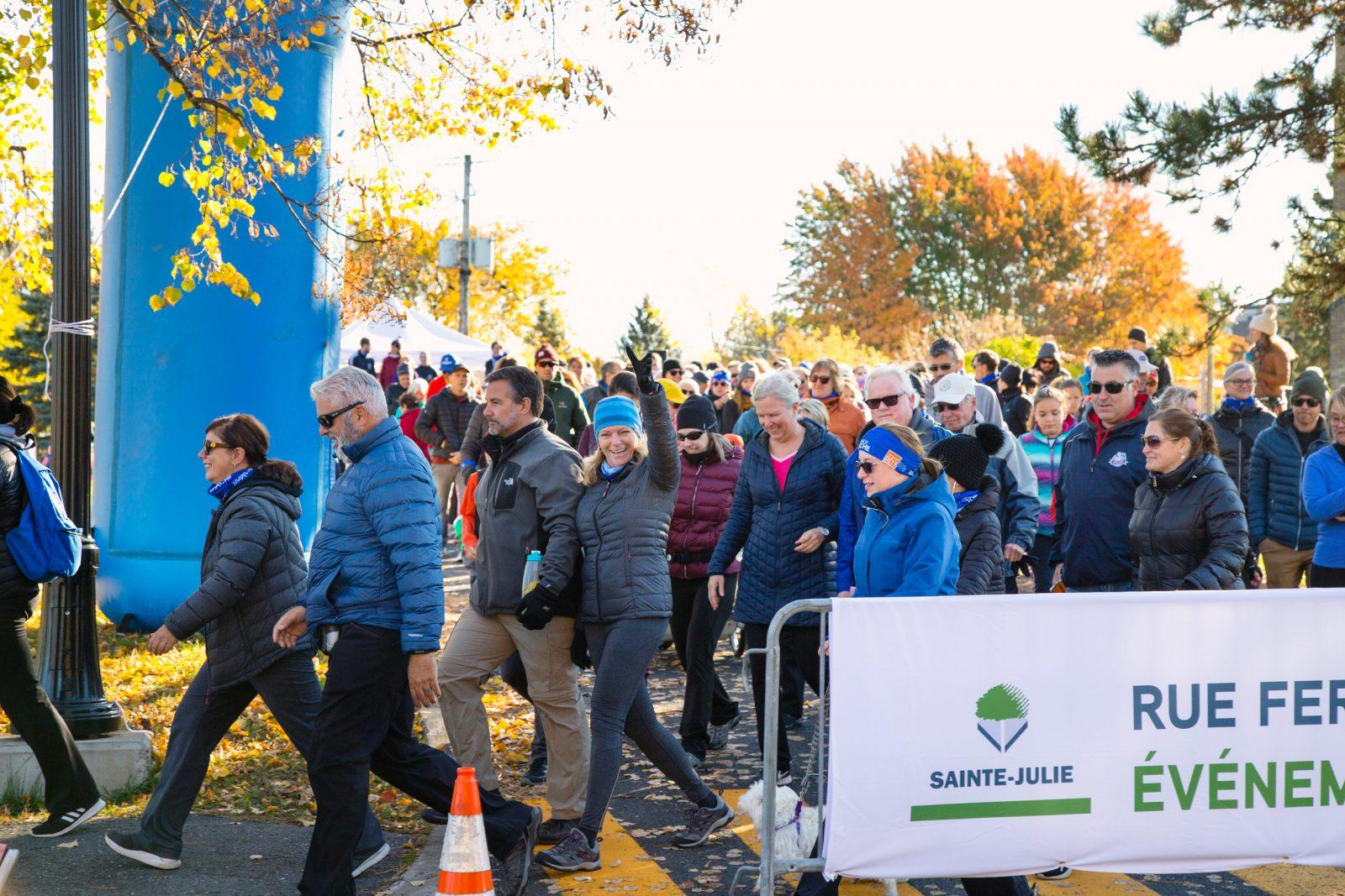 La Ville de Sainte-Julie invite les citoyens à venir marcher le 15 octobre