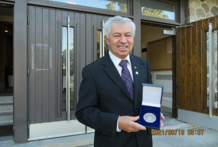 Jean-Louis Richer récipiendaire de la Médaille du Lieutenant-gouverneur