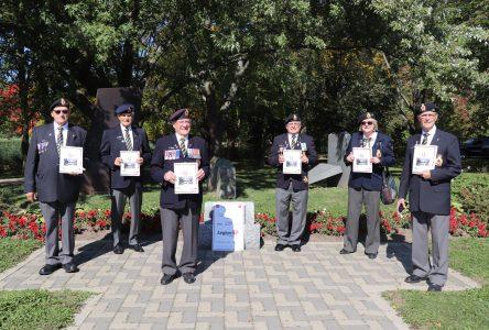 La Légion royale canadienne, filiale Pierre-Boucher, célèbre son 25e anniversaire