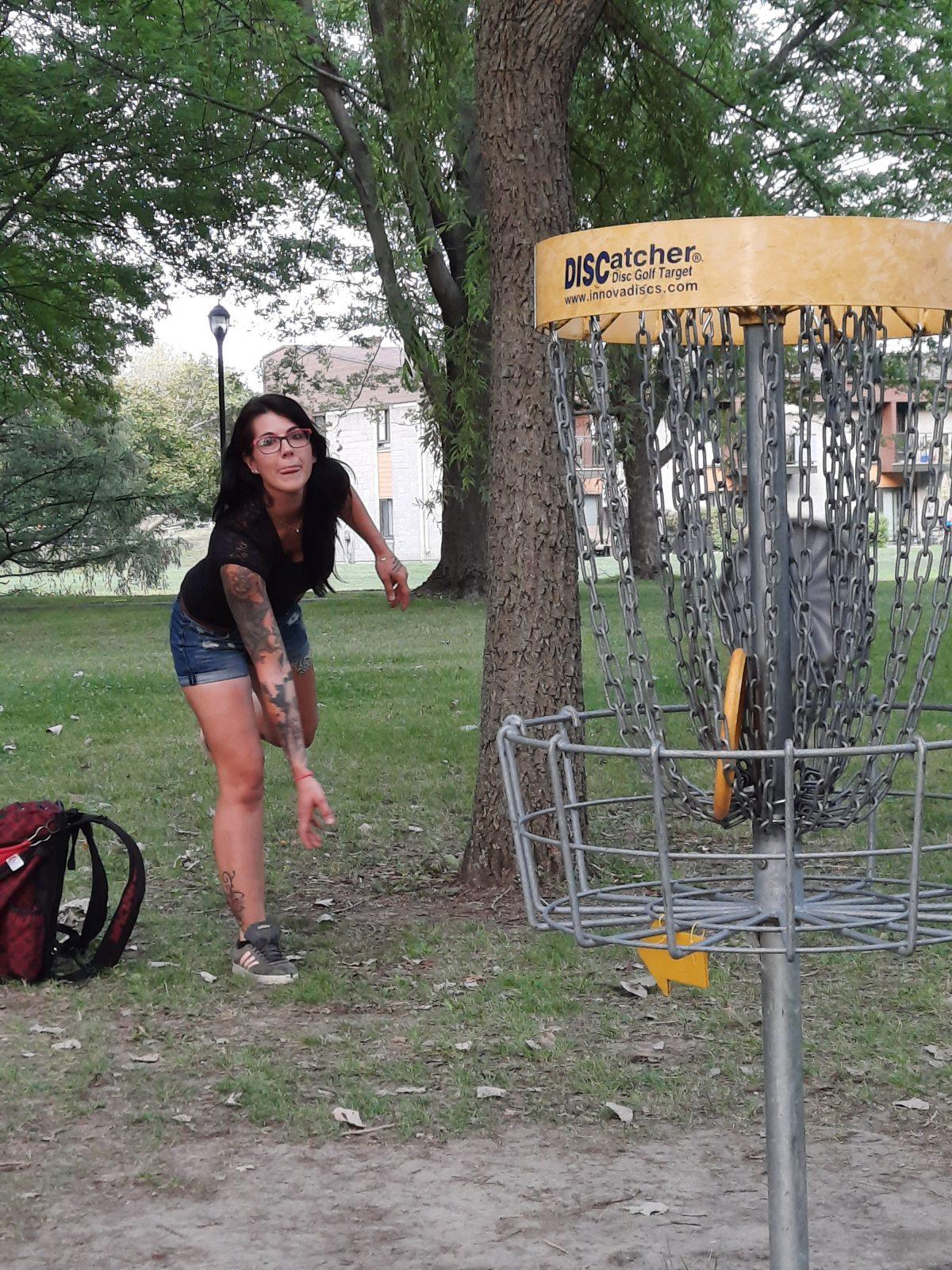 Un tournoi de disque golf à Boucherville