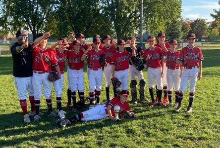 Les Patriotes De Mortagne remportent le tournoi de Drummondville