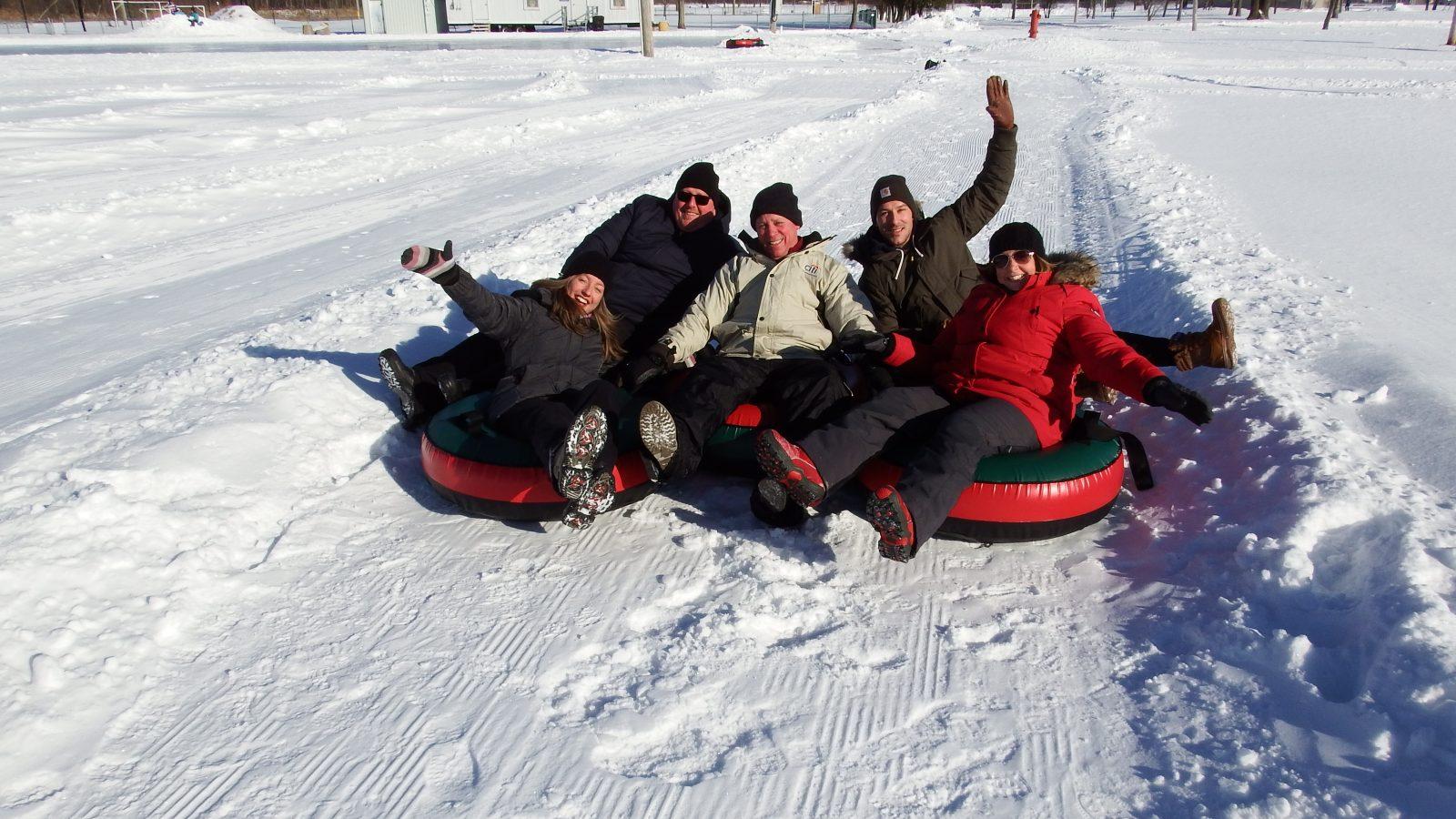 Les Plaisirs d'hiver vous attendent au parc Le Rocher à Saint-Amable