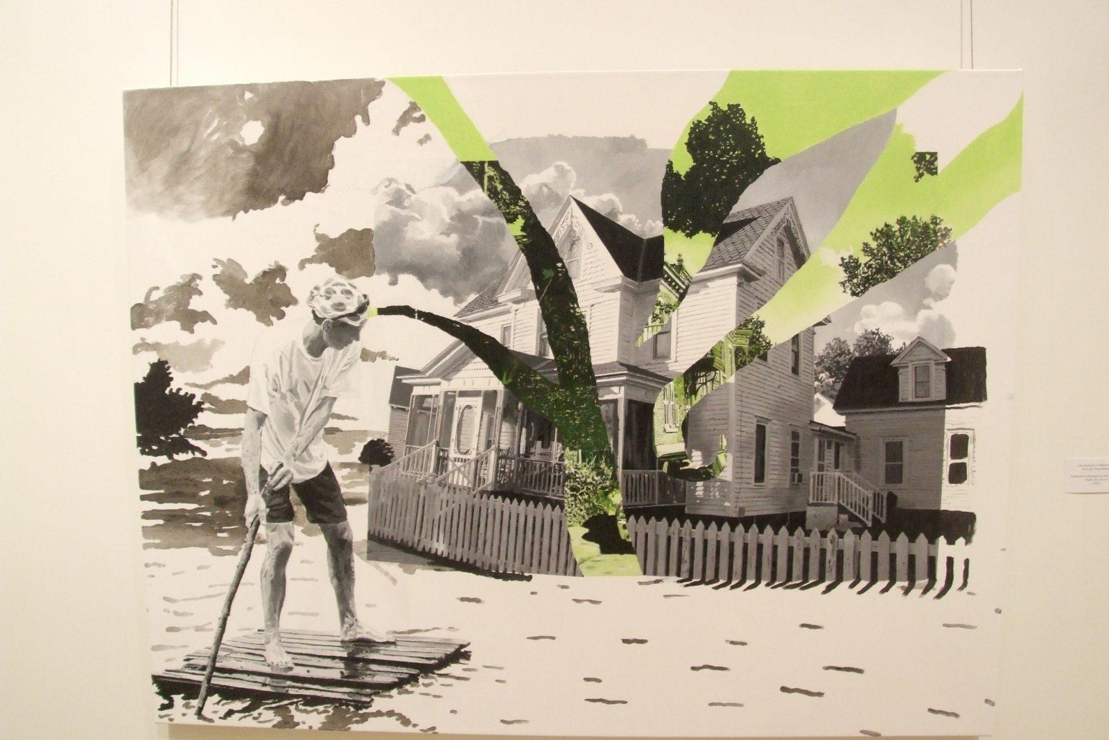 L'artiste québécoise Tanya Morand jette un regard contemporain sur le tissu urbain