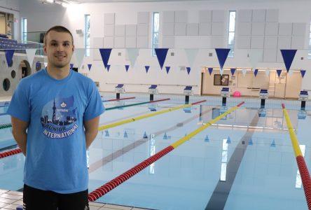 Guillaume Lord, un nageur de haut niveau à surveiller
