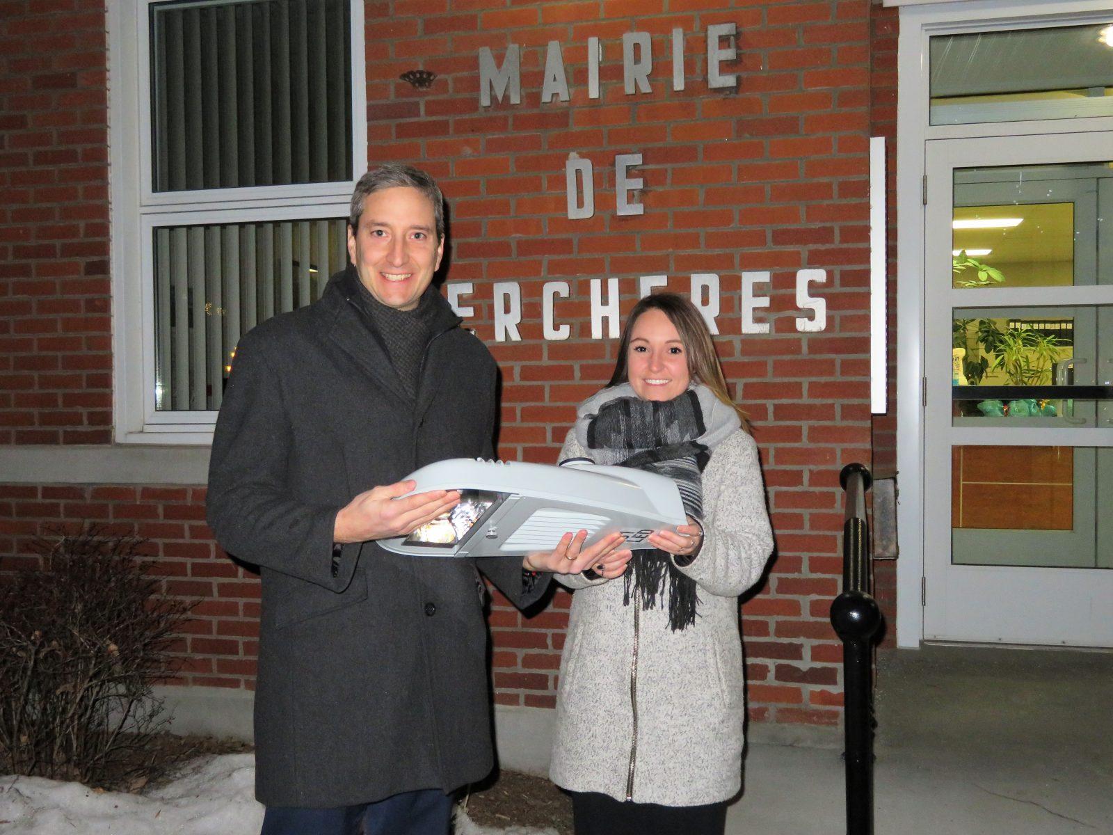 La Municipalité de Verchères réalise un projet de modernisation de l'éclairage public