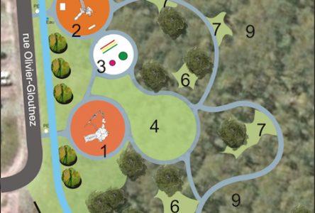 Parc Amable-Marion: les plans d'aménagement dévoilés
