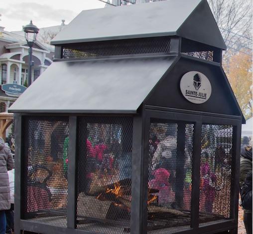 Nouvelle activité à Sainte-Julie : soirées autour du feu