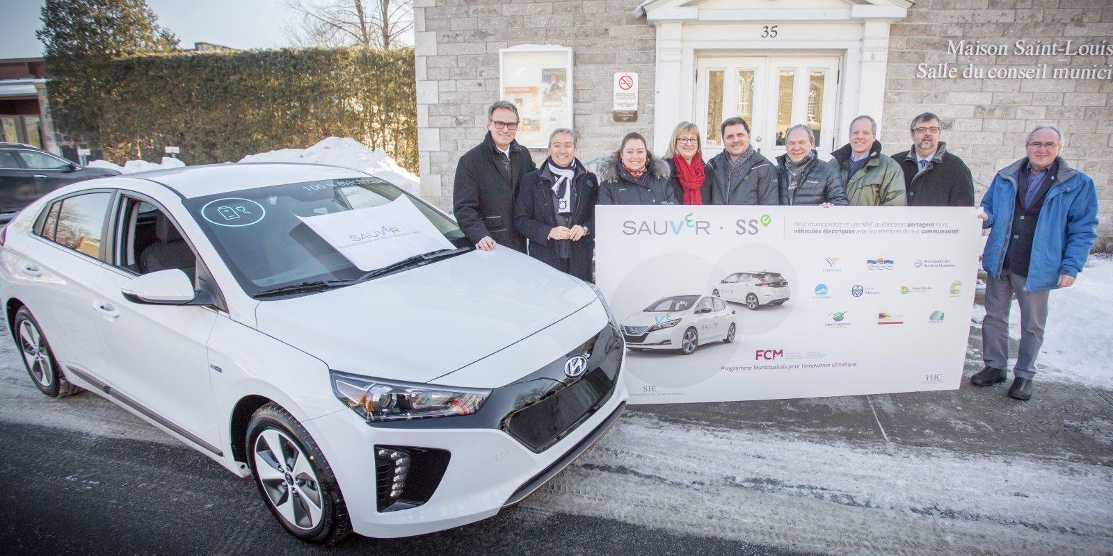 Projet de véhicule électrique en autopartage bientôt à Varennes