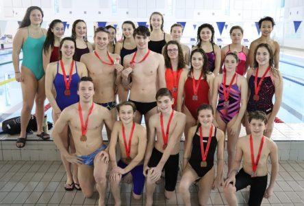 Plusieurs nageurs de Boucherville se distinguent