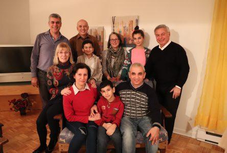 Une nouvelle vie à Boucherville pour une famille de réfugiés syriens