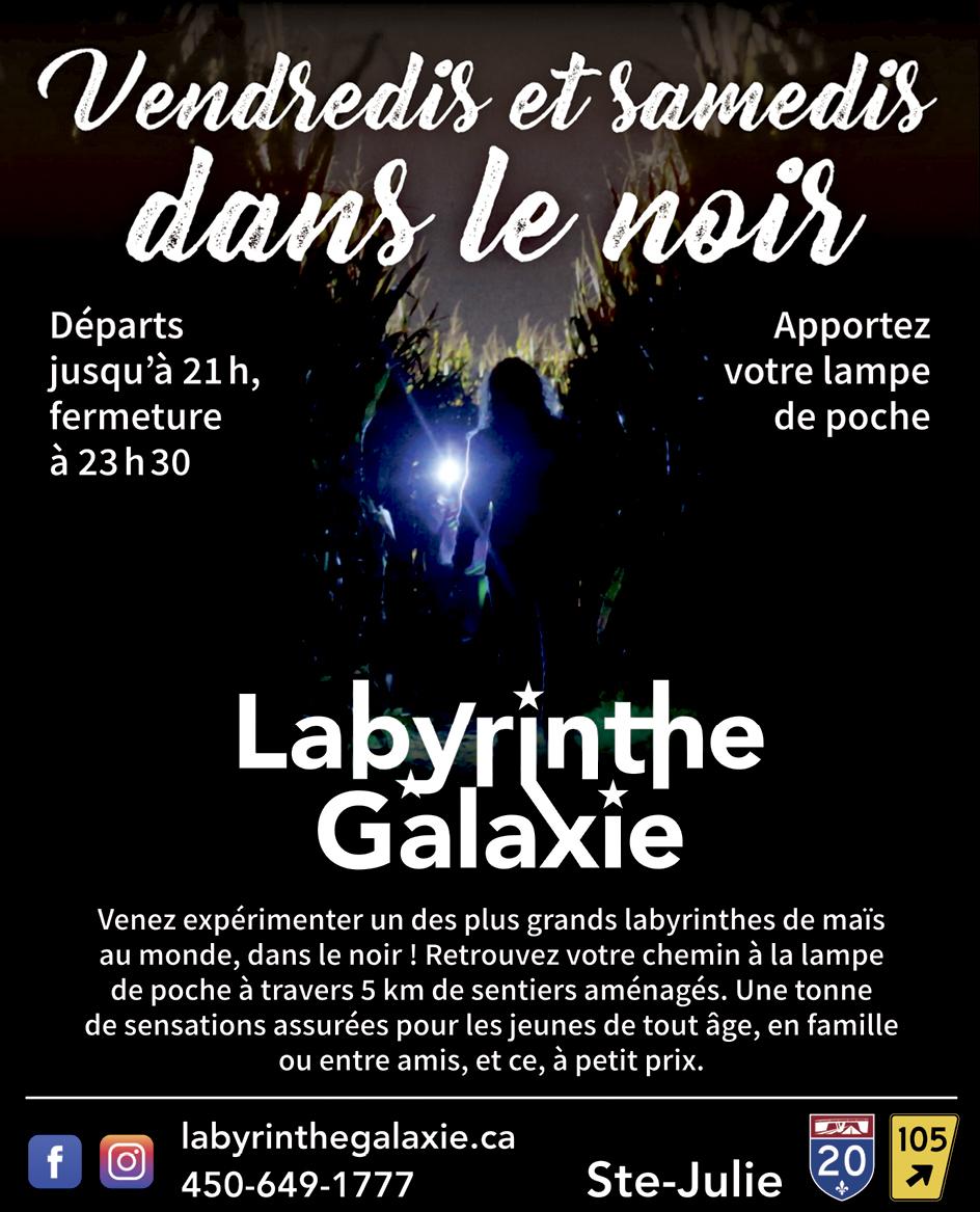 Sainte-Julie Labyrinthe galaxie